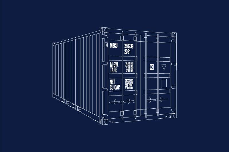 Unterlagen für Containerfonds