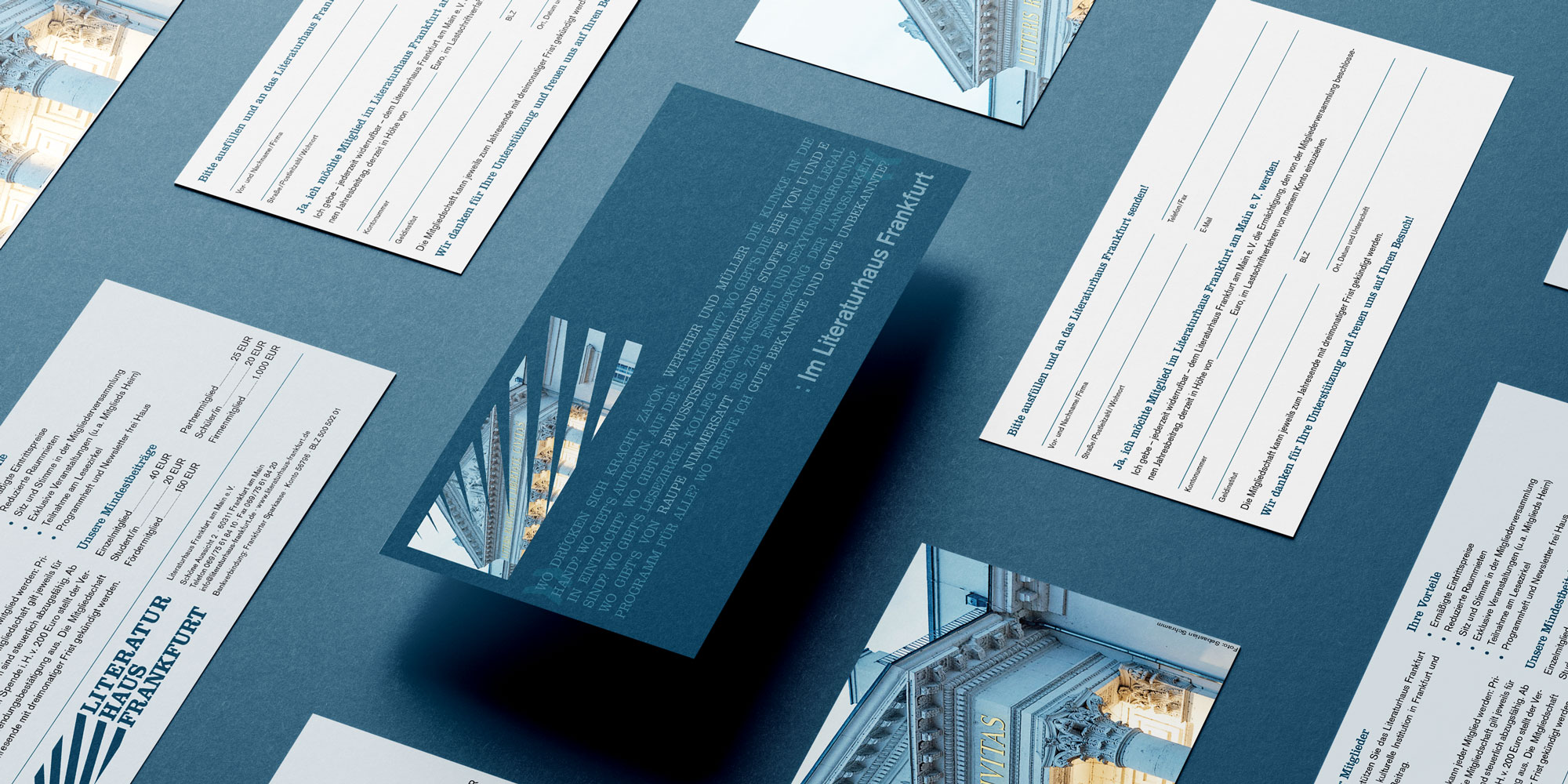 Mitgliederkarte Literaturhaus Frankfurt